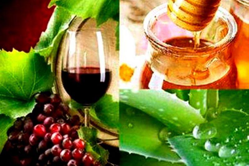 Вино мед и алоэ от простатита простатит лечение геморрой